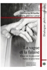 La vague et la falaise - Image de couverture